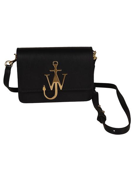 J.W. Anderson Jw Anderson Logo Shoulder Bag in black / gold