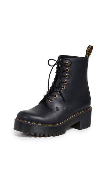 Dr. Martens Shriver 8 Eye Boots in black