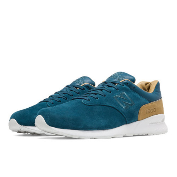New Balance 1500 Deconstructed Men's Men s Sport Style Sneakers Shoes - Ocean Depths/Beige (MD1500DX)