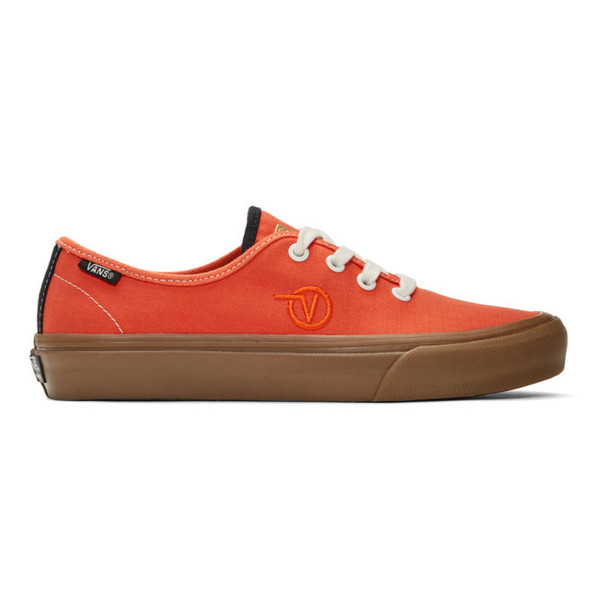 Vans Orange Taka Hayashi Edition Authentic One Sneakers