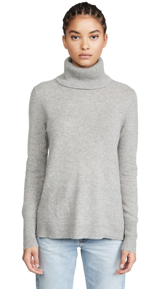 White + Warren White + Warren Essential Cashmere Turtleneck Sweater