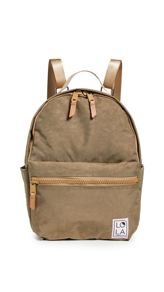 LOLA Starchild Medium Backpack in khaki