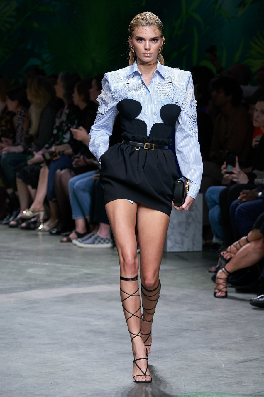 top kendall jenner kardashians model runway fashion week celebrity shirt