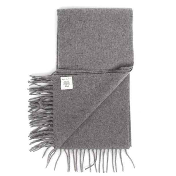 Acne Studios Canada Nr New Melange Wool Scarf