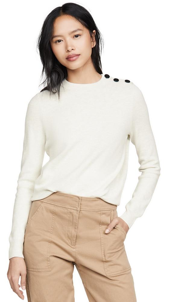 A.P.C. A.P.C. Pull Caroline Sweater in ecru