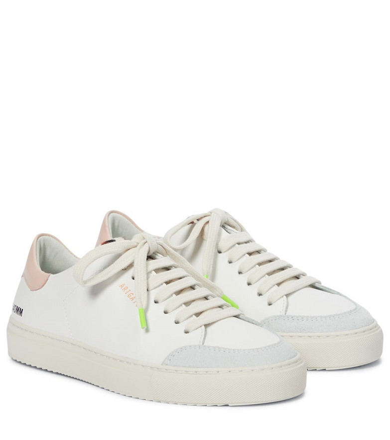 Axel Arigato Clean 90 Triple leather sneakers in white