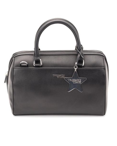 Trussardi Trussardi Easy Star Faux Leather Bag in black