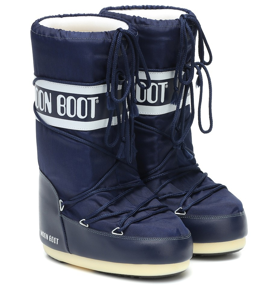 Moon Boot Nylon snow boots in blue