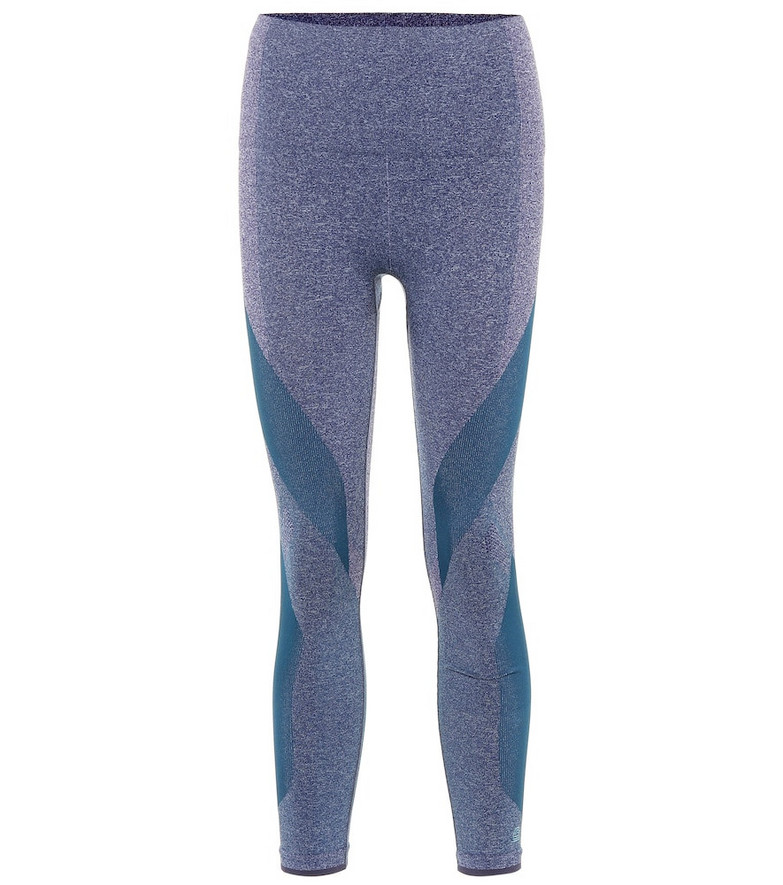 Lndr Launch leggings in blue
