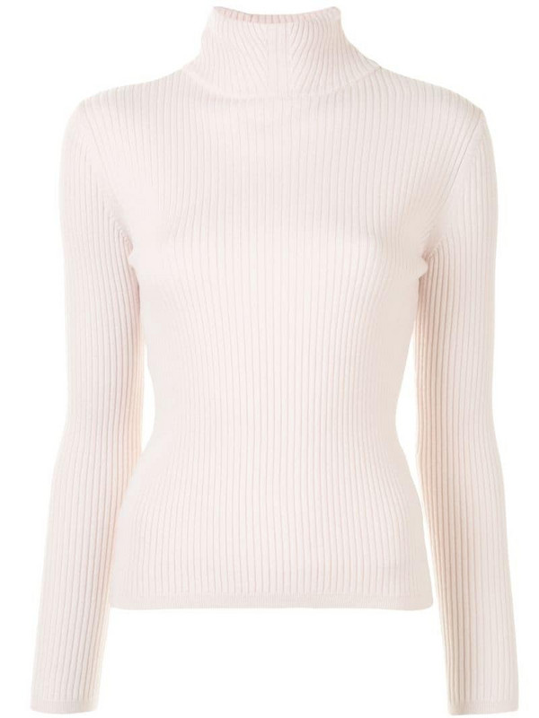 A.P.C. Carven ribbed jumper in pink