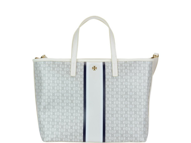 Tory Burch Small Gemini Link Bag in ivory