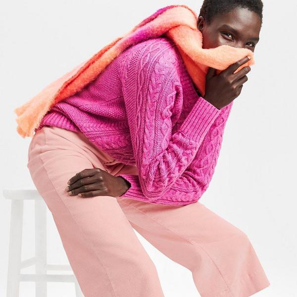 scarf sweater