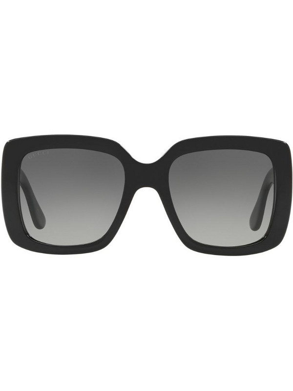 Gucci Eyewear GG0141S square-frame sunglasses in grey