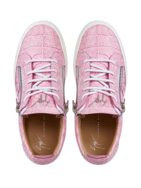 Giuseppe Zanotti Gail low-top sneakers in pink