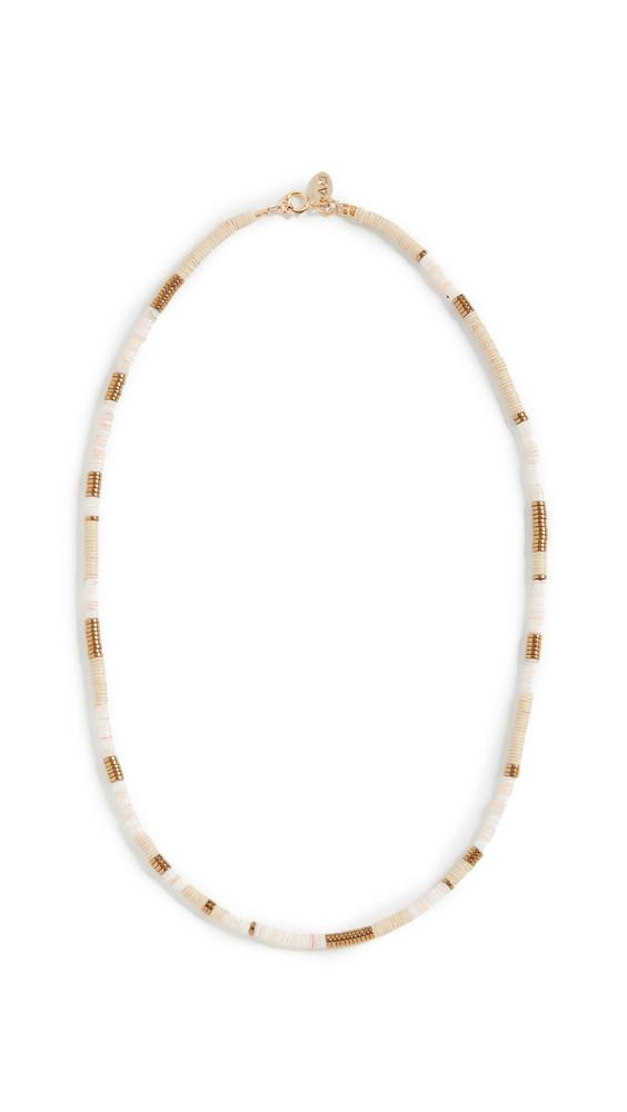 Maison Monik Alabama Necklace in gold / white