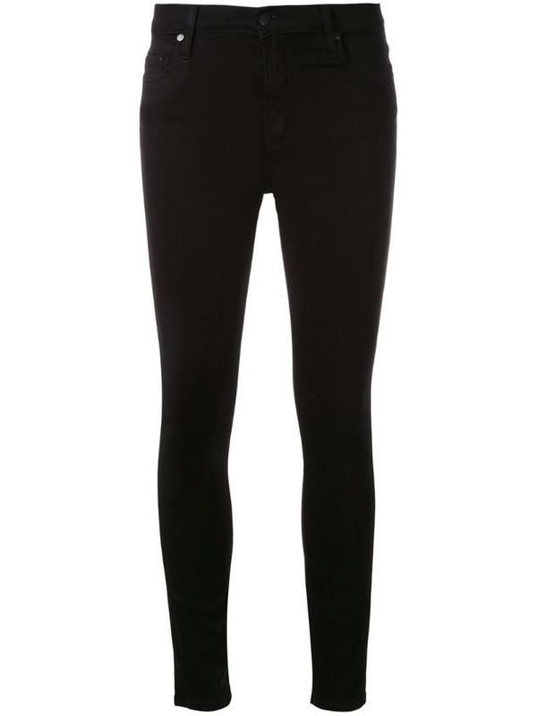 Nobody Denim Cult Skinny Ankle jeans in black