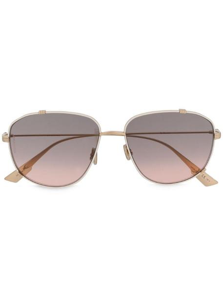 Dior Eyewear Monsieur 3 sunglasses in gold