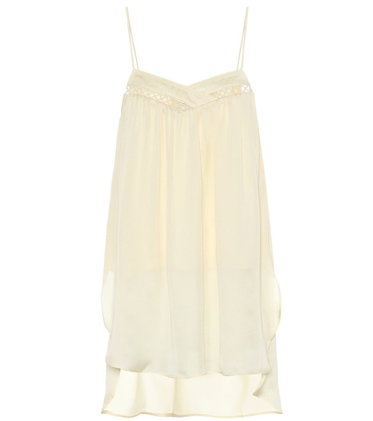 Arjé The Koko silk camisole in yellow