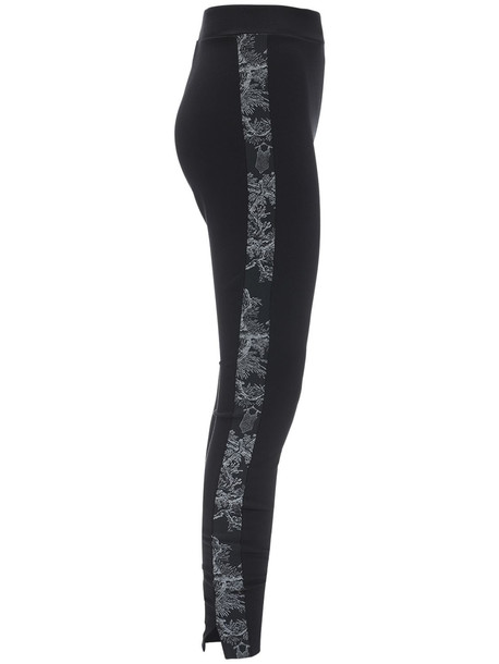 WOLFORD Johanna Viscose Blend Jersey Leggings in black