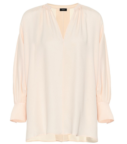 Joseph Silk blouse in beige