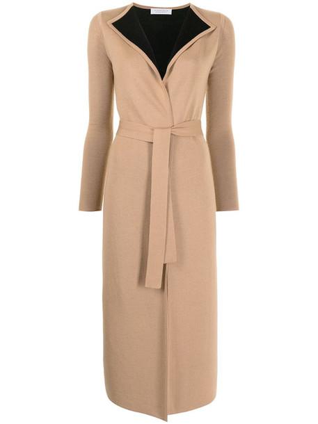 Gabriela Hearst Nancy tie-waist cardigan in brown