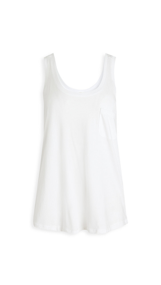 Skin Ciara Tank in white