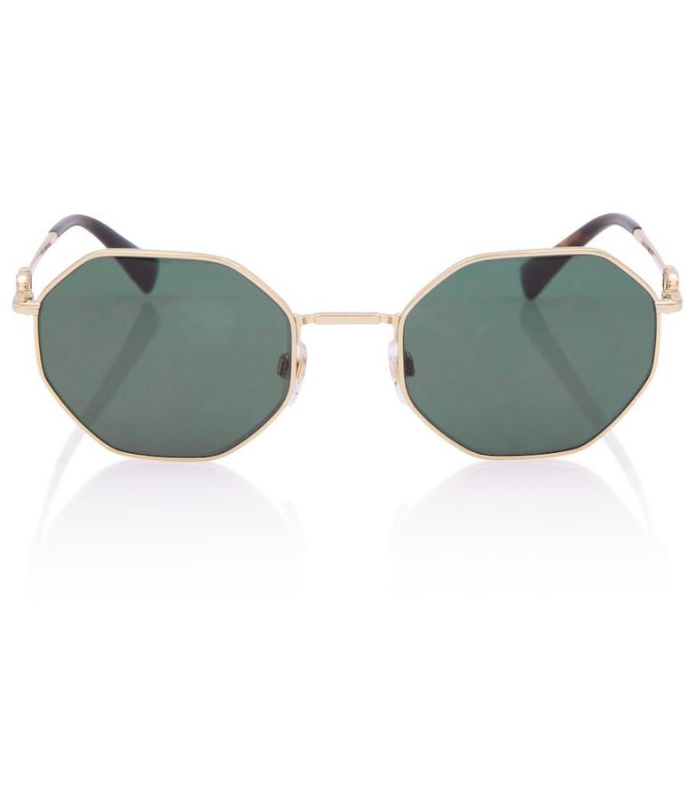 Valentino VLOGO sunglasses in gold
