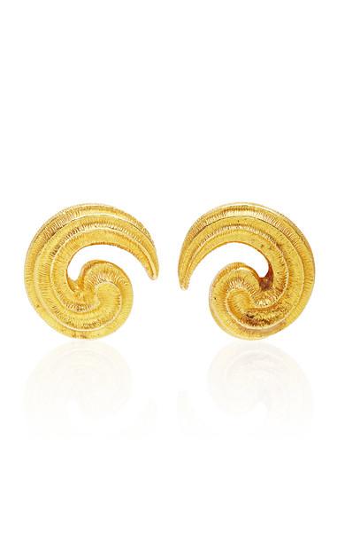 Eleuteri Vintage 18K Yellow Gold Earrings