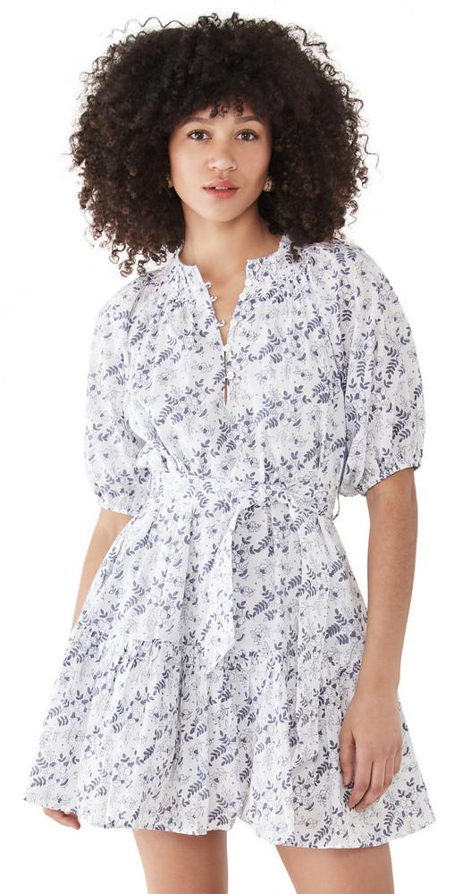 Cleobella Nevah Mini Dress in print