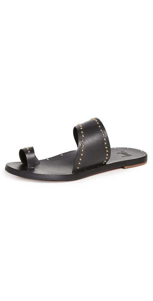 beek Finch Studs Sandals in black