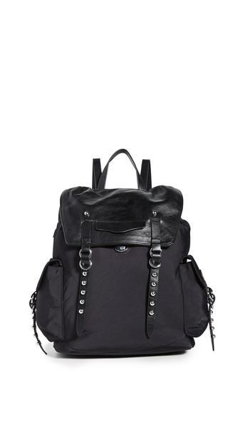 Rebecca Minkoff Bowie Nylon Backpack in black