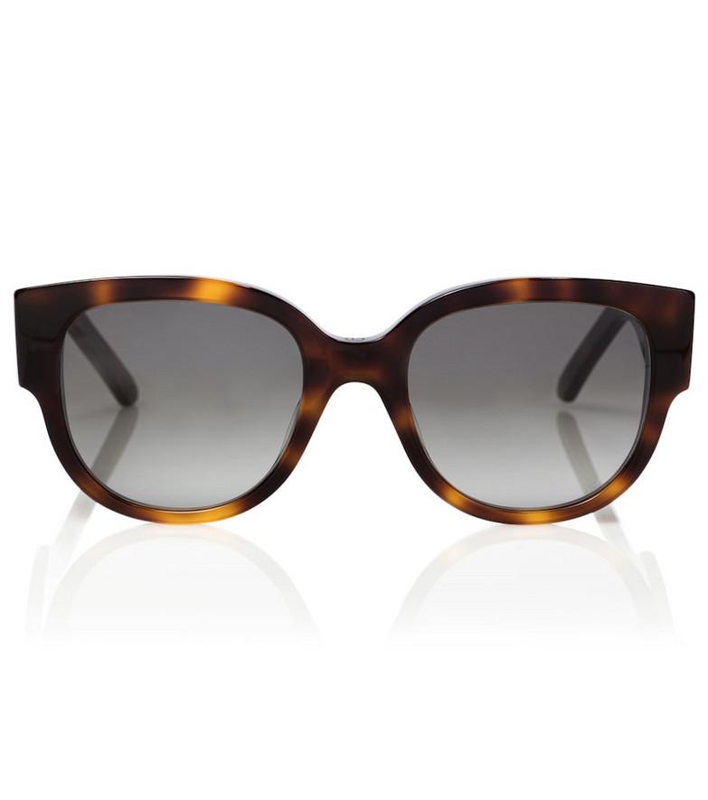 Dior Eyewear Wildior BU oversized sunglasses in brown