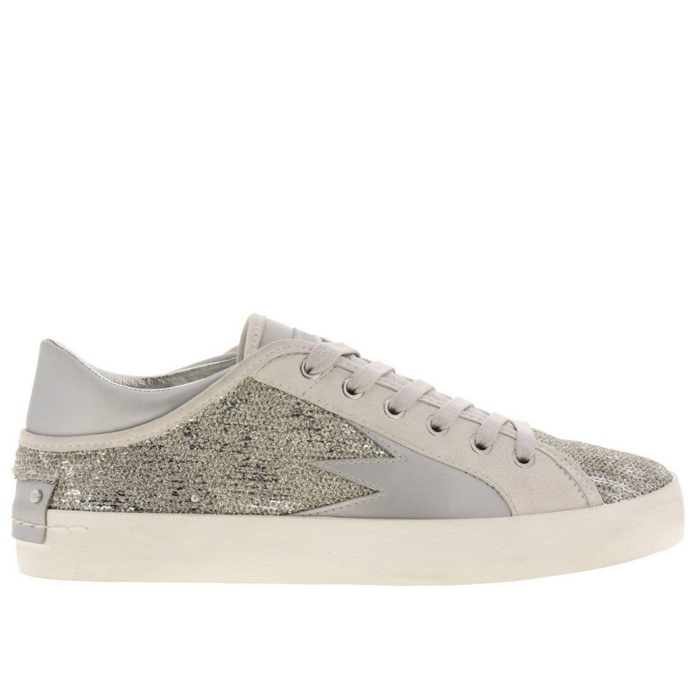 Crime London Sneakers Shoes Women Crime London in silver