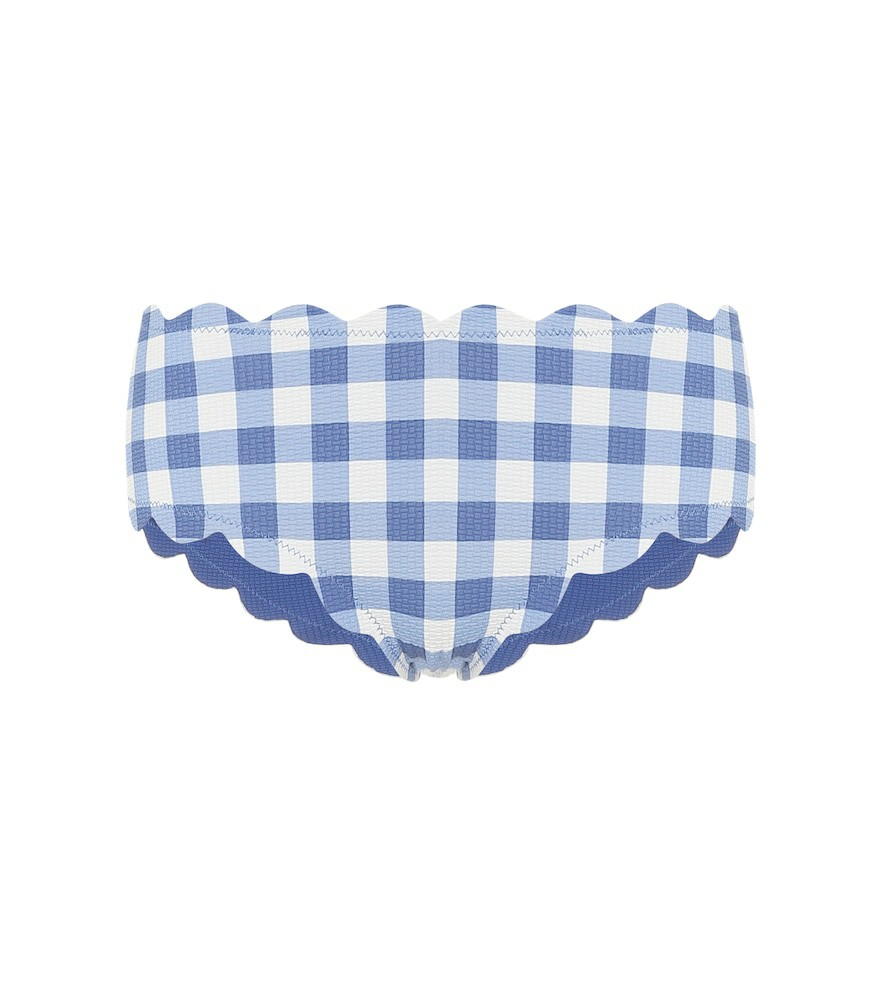 Marysia Exclusive to Mytheresa – Spring reversible bikini bottoms in blue
