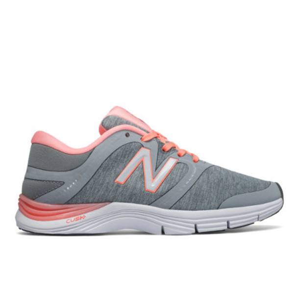 New Balance 711v2 Heathered Trainer Women's Cross-Training Shoes - Silver/Pink (WX711HO2)