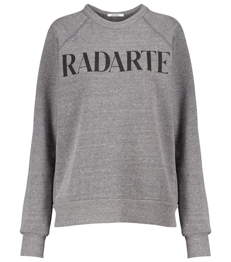 Rodarte Logo sweatshirt in grey