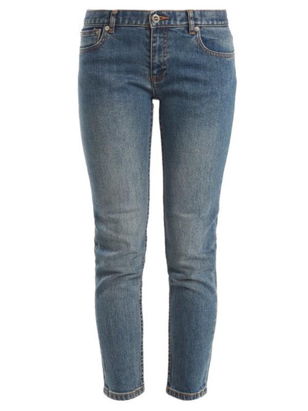 A.P.C. A.p.c. - Etroit Court Low Rise Skinny Jeans - Womens - Denim