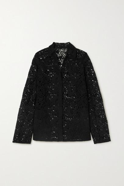VALENTINO - Corded Lace Jacket - Black