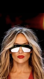 sunglasses,mirror,jennifer lopez,celebrity,metallic,silver