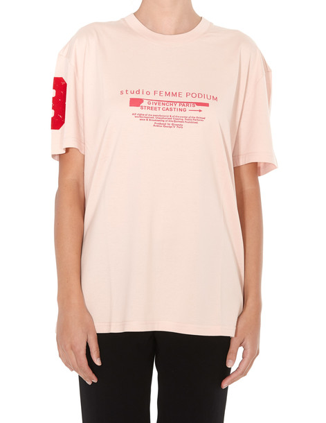 Givenchy Logo T-shirt in pink