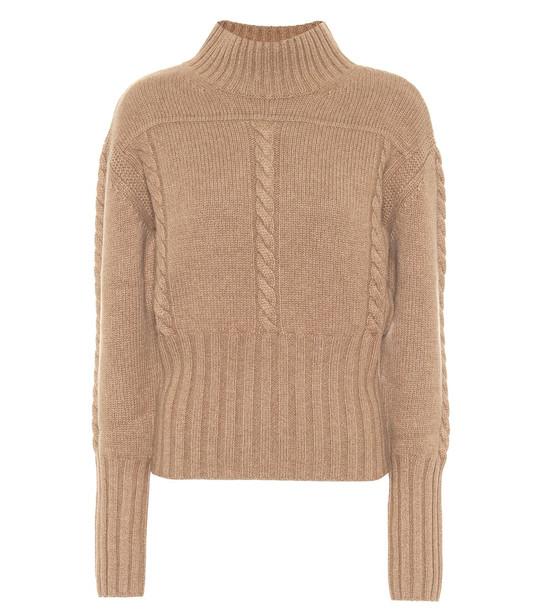 Khaite Maude cashmere sweater in beige