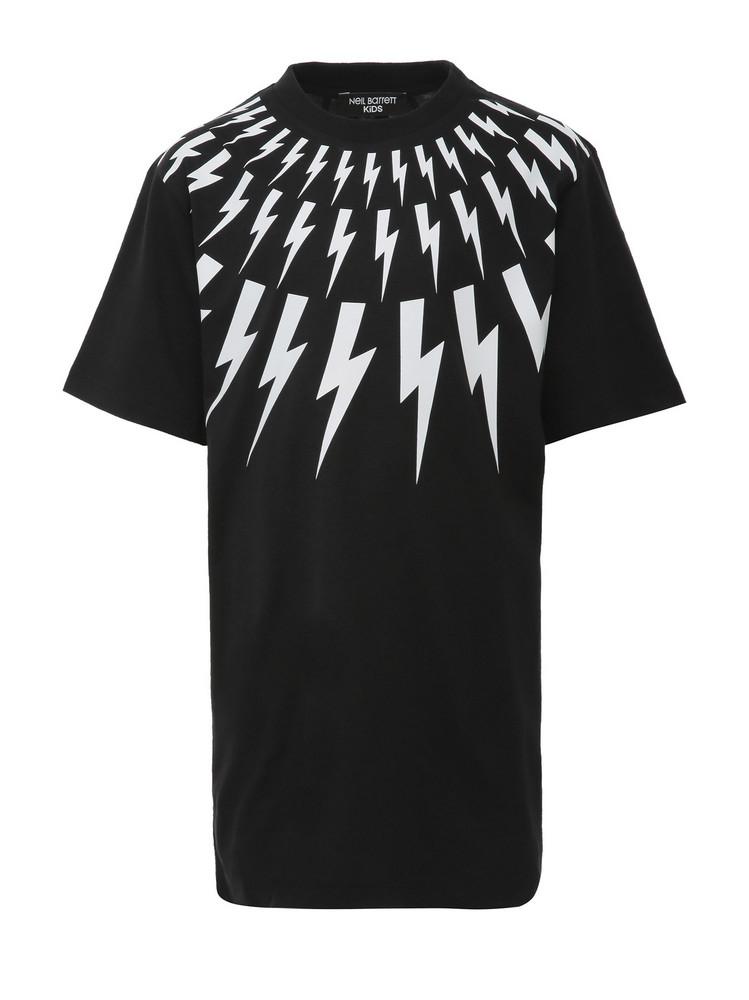 Neil Barrett Kids T-shirt in black