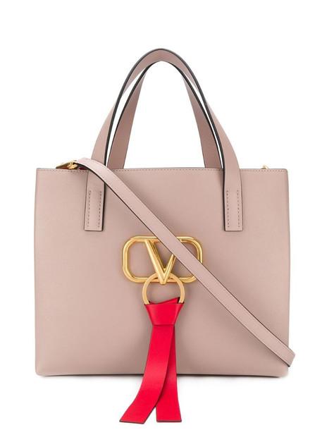 Valentino Garavani VRING tote bag in pink