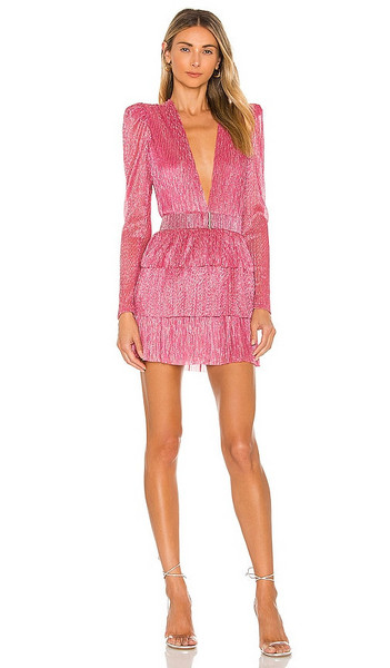 Sabina Musayev X REVOLVE Carry Mini Dress in Fuschia in pink
