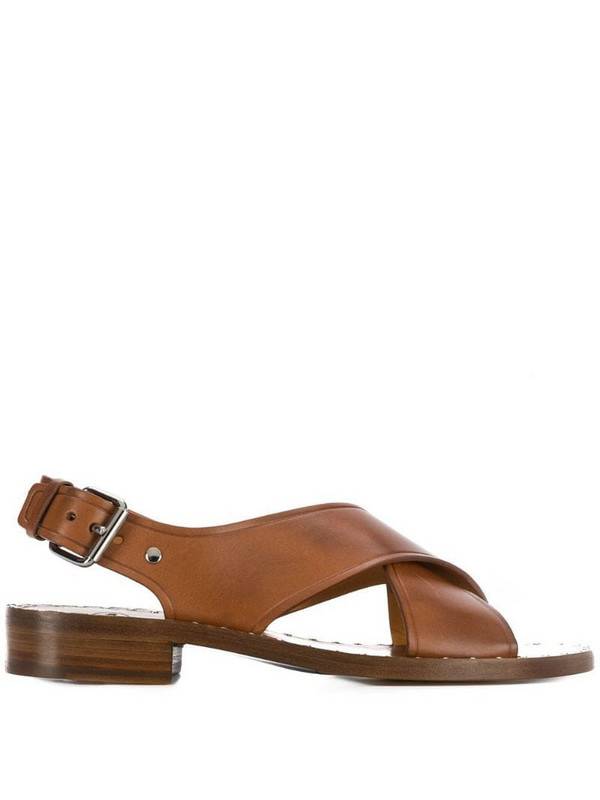 Church's Rhonda crossover sandals in brown