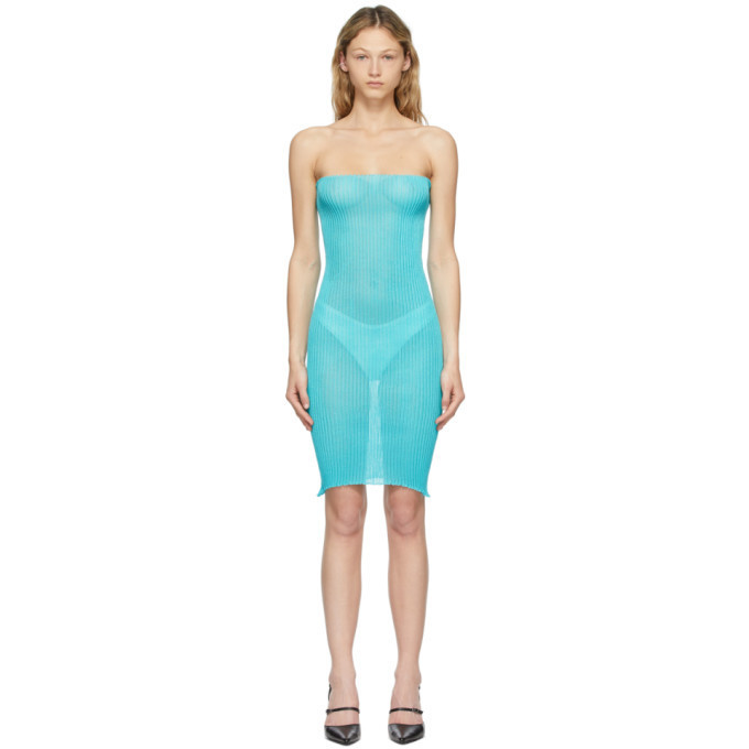 a. roege hove Blue Tube Dress in azure
