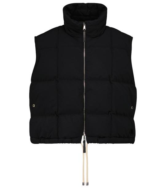 Moncler Genius 2 MONCLER 1952 Demetria quilted down vest in black