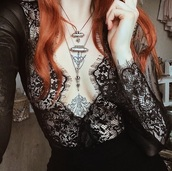 shirt,bodysuit,long sleeve bodysuit,lace bralette,lace lingerie,lace bra,lace,lace top,lace romper,lace bodysuit,black,black top,boho chic,boho shirt,boho,indie boho,style,sheer,sheer top,sheer bodysuit,sheer lingerie,eyelash lace,underwear,black underwear,sexy lingerie,sexy,sexy black lingerie