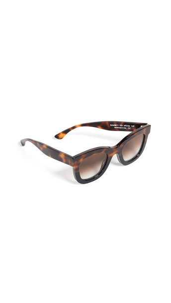 Thierry Lasry Gambly 101 Sunglasses in black