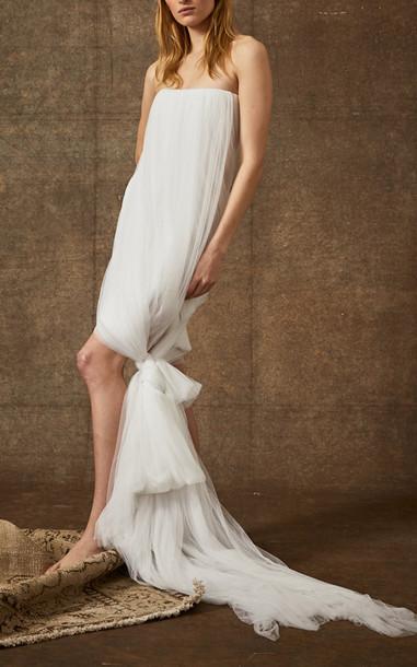 Danielle Frankel Bridal Thea Dress in white